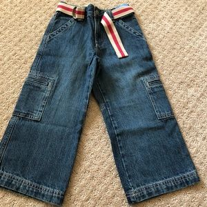 Gymboree NWT new boys adjustable jeans pants 4